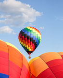 Hot Air Ballooning Royalty Free Stock Images