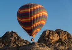 Hot-air ballooning in Cappadocia Royalty Free Stock Photos
