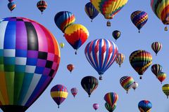 Hot Air Ballooning Stock Photography
