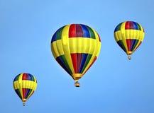 Hot Air Ballooning, Hot Air Balloon, Yellow, Sky Stock Images