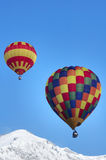 Hot air balloons Royalty Free Stock Photography