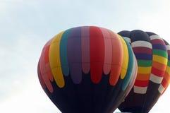 Hot air balloons. Two hot air balloons Royalty Free Stock Image