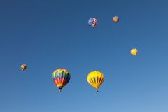 Hot air balloons Stock Photos