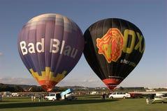 Hot Air Balloons. During an air show Stock Image