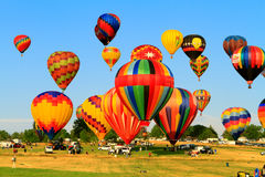 Hot air balloons Royalty Free Stock Images