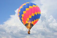 Hot Air Balloons. Hot Air colorful Balloons in sky Royalty Free Stock Photography