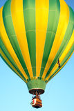 Hot air balloons. In the sky displaying their brilliant colors Royalty Free Stock Photography