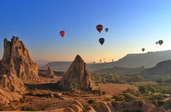 Free Hot Air Balloons Royalty Free Stock Photos - 46542078
