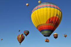 Hot Air Balloons Royalty Free Stock Photos