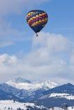 Hot Air Balloons. Methow Valley Balloon Festival at Winthrop, WA Stock Photography