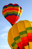 Hot air Balloons. Colorful hot air balloons with sky background Stock Image