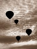 Hot Air Balloons stock photography
