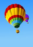 Hot Air Balloons Background Stock Image