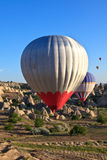 Hot air balloons in Cappadocia, Turkey Royalty Free Stock Photo