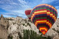 Hot air balloons, Cappadocia, Turkey Stock Image