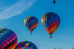 Hot Air Balloons at Carolina BalloonFest royalty free stock images