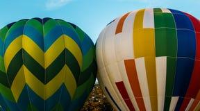 Hot Air Balloons at Carolina BalloonFest royalty free stock image
