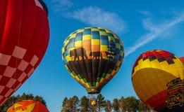 Hot Air Balloons at Carolina BalloonFest stock image