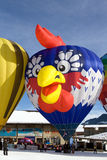 Hot Air Balloons - Chateau-d'Oex 2010 Stock Image