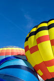 Hot Air Balloons - Chateau-d'Oex 2010 Royalty Free Stock Photos