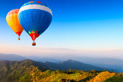 Hot-air balloons Royalty Free Stock Photo