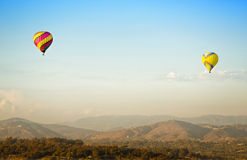 Hot Air Balloons, Del Mar, Califronia Royalty Free Stock Photography