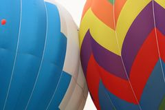 Hot air balloons detail Royalty Free Stock Photos