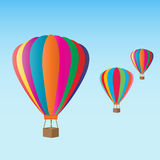 Hot air balloons at the festival Royalty Free Stock Photos