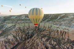 Hot air balloons festival. In Cappadocia, Turkey stock photography