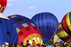 Hot air Balloons festival in Quebec Royalty Free Stock Photos