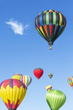 Hot air balloons fiesta Royalty Free Stock Photos