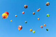Hot air balloons fiesta Stock Photography
