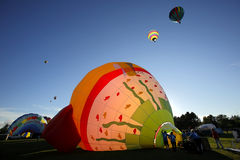 Hot Air Balloons Fish Royalty Free Stock Image