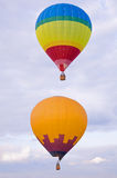 Hot air balloons. Stock Photo