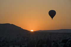 Free Hot Air Balloons Flying On Goreme - Turkey Royalty Free Stock Images - 15973199