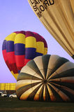 Hot air balloons on the Ground Royalty Free Stock Images