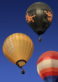 Hot-air balloons in Myanmar Stock Image