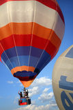Hot-air balloons in Myanmar Royalty Free Stock Photos