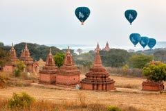 Hot Air Balloons over Bagan, Myanmar