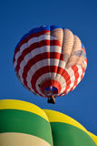Hot Air Balloons. Ready for take off Stock Photo