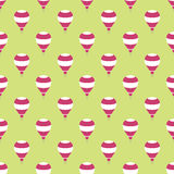 Hot air  balloons seamless pattern background Royalty Free Stock Photo