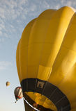 Hot air balloons. In the sky Stock Photography