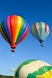 Hot Air Balloons. Take off at local fair Royalty Free Stock Photos