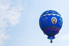 Hot Air Balloons. View of hot air balloons floating in the air at Putrajaya Hot Air Balloon Festival Royalty Free Stock Photos