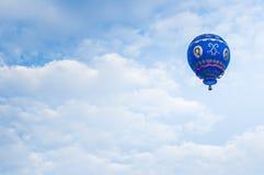 Hot Air Balloons. View of hot air balloons floating in the air at Putrajaya Hot Air Balloon Festival Royalty Free Stock Images