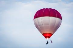 Hot Air Balloons. View of hot air balloons floating in the air at Putrajaya Hot Air Balloon Festival stock photos