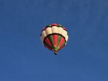Hot air baloon. In blue sky Royalty Free Stock Image