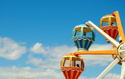 Hot Air Baloon amusement ride Royalty Free Stock Image