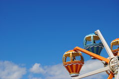 Hot Air Baloon amusement ride Stock Image