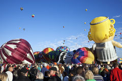Hot Air Baloon Fiesta Royalty Free Stock Photography